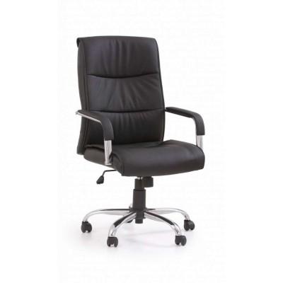 Hamilton fotel biurowy czarny Halmar