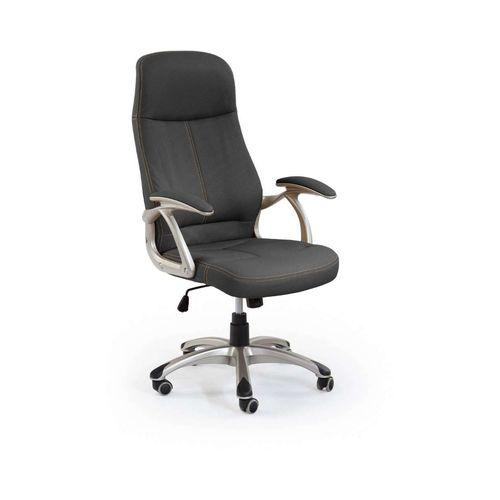 Edison fotel biurowy czarny Halmar