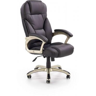 Desmond fotel biurowy czarny Halmar