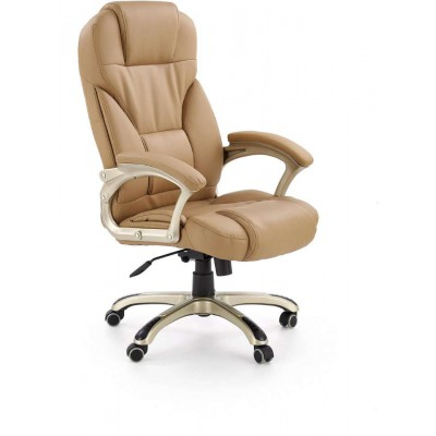Desmond fotel biurowy beżowy Halmar