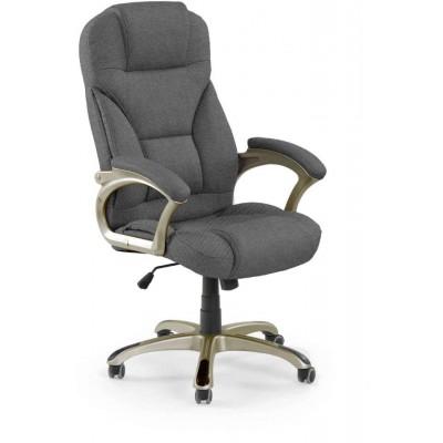 Desmond 2 fotel biurowy ciemny popielaty Halmar