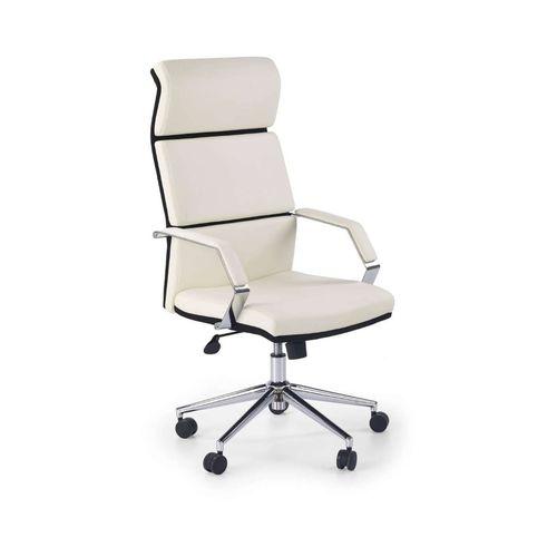 Costa fotel biurowy biało-czarny Halmar