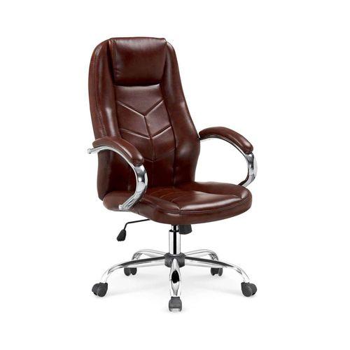 Cody fotel biurowy brązowy Halmar