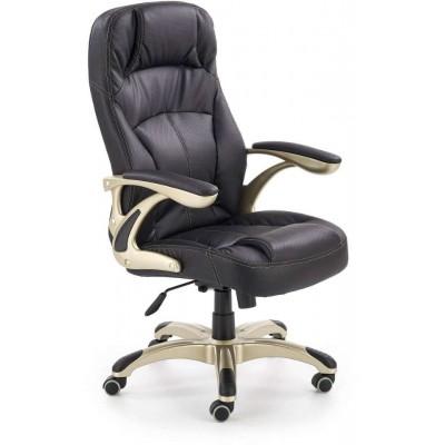 Carlos fotel biurowy czarny Halmar