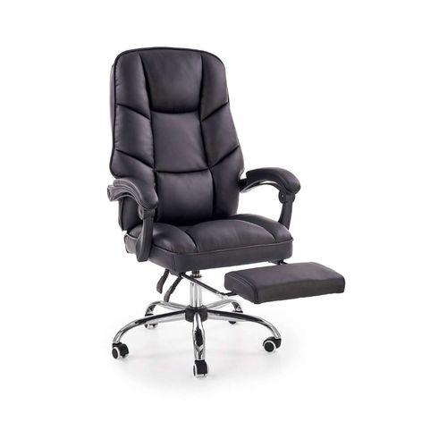 Alvin fotel biurowy czarny Halmar