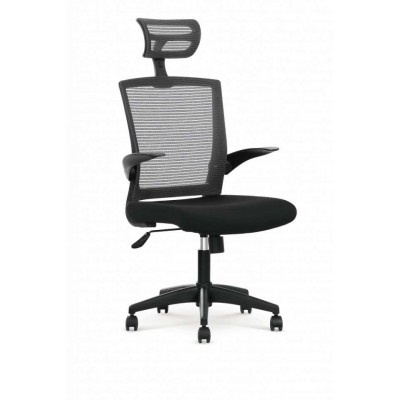 Valor fotel biurowy czarno / popielaty Halmar