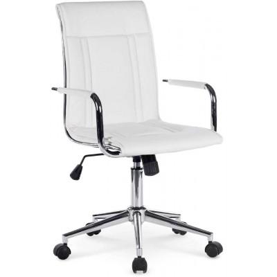 Porto 2 fotel biurowy biały Halmar