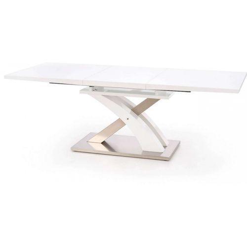 Sandor stół rozkładany biały lakierowany Halmar
