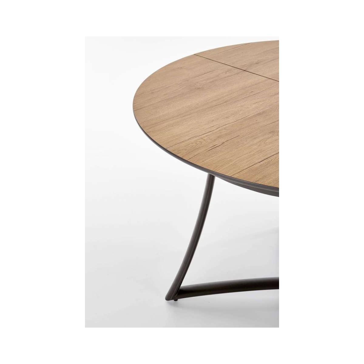 Moretti stół rozkładany dąb naturalny popielaty nogi antracyt