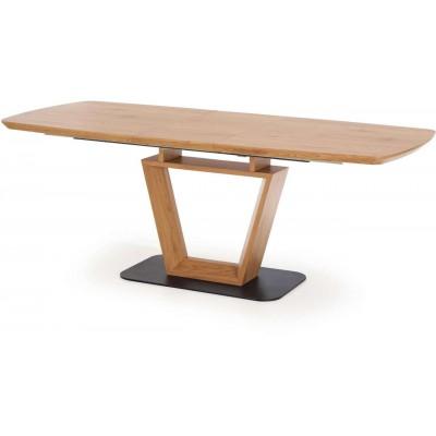 Blacky stół rozkładany dąb złoty Halmar
