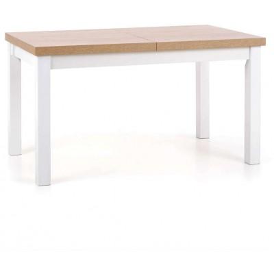 Tiago stół rozkładany dąb sonoma nogi białe