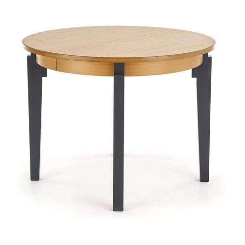 Sorbus stół rozkładany dąb miodowy nogi grafitowe Halmar