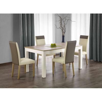Seweryn stół rozkładany 160-300cm dąb sonoma / biały