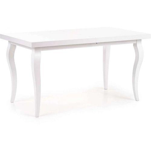 Mozart stół rozkładany 140-180cm biały Halmar