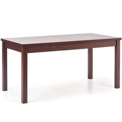 Maurycy stół rozkładany ciemny orzech