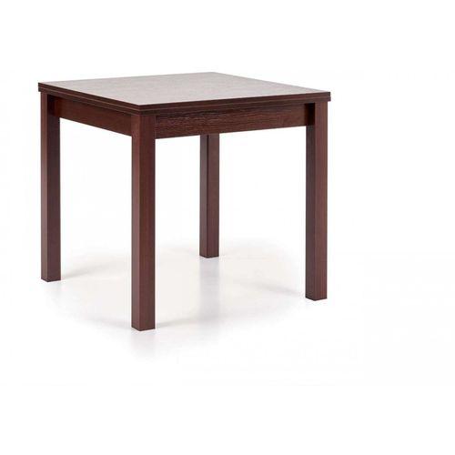 Gracjan stół rozkładany ciemny orzech Halmar