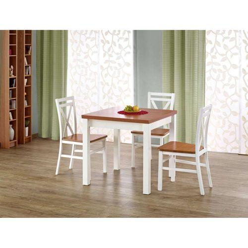 Gracjan stół rozkładany olcha biały Halmar