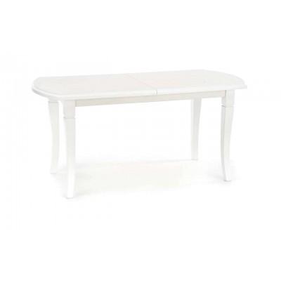 Fryderyk stół rozkładany biały 160/240 cm