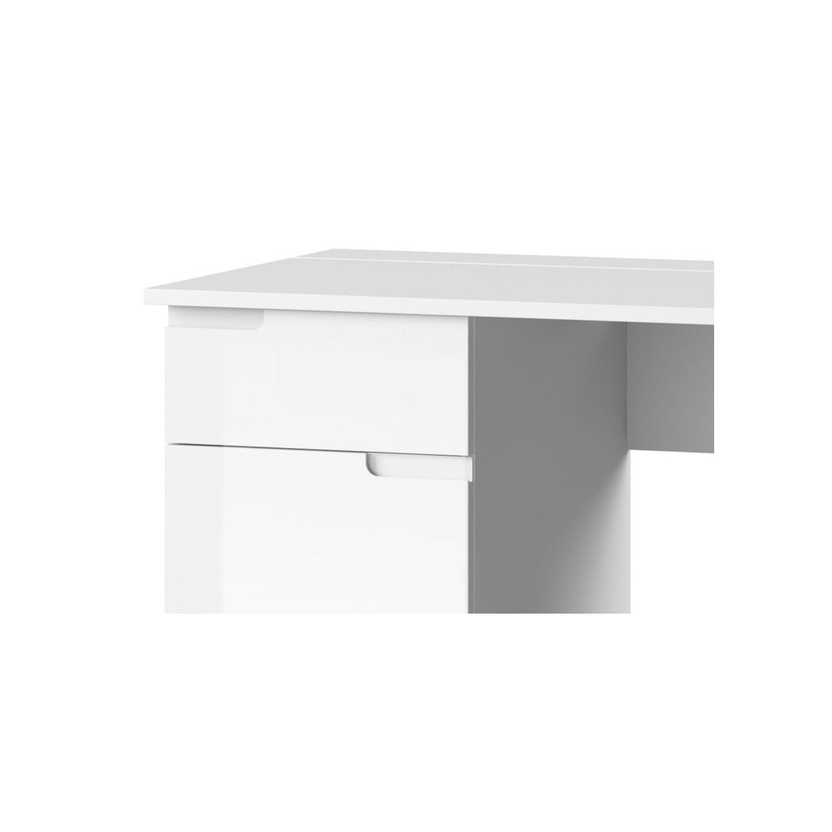 Biurko Selene biały połysk Typ 14