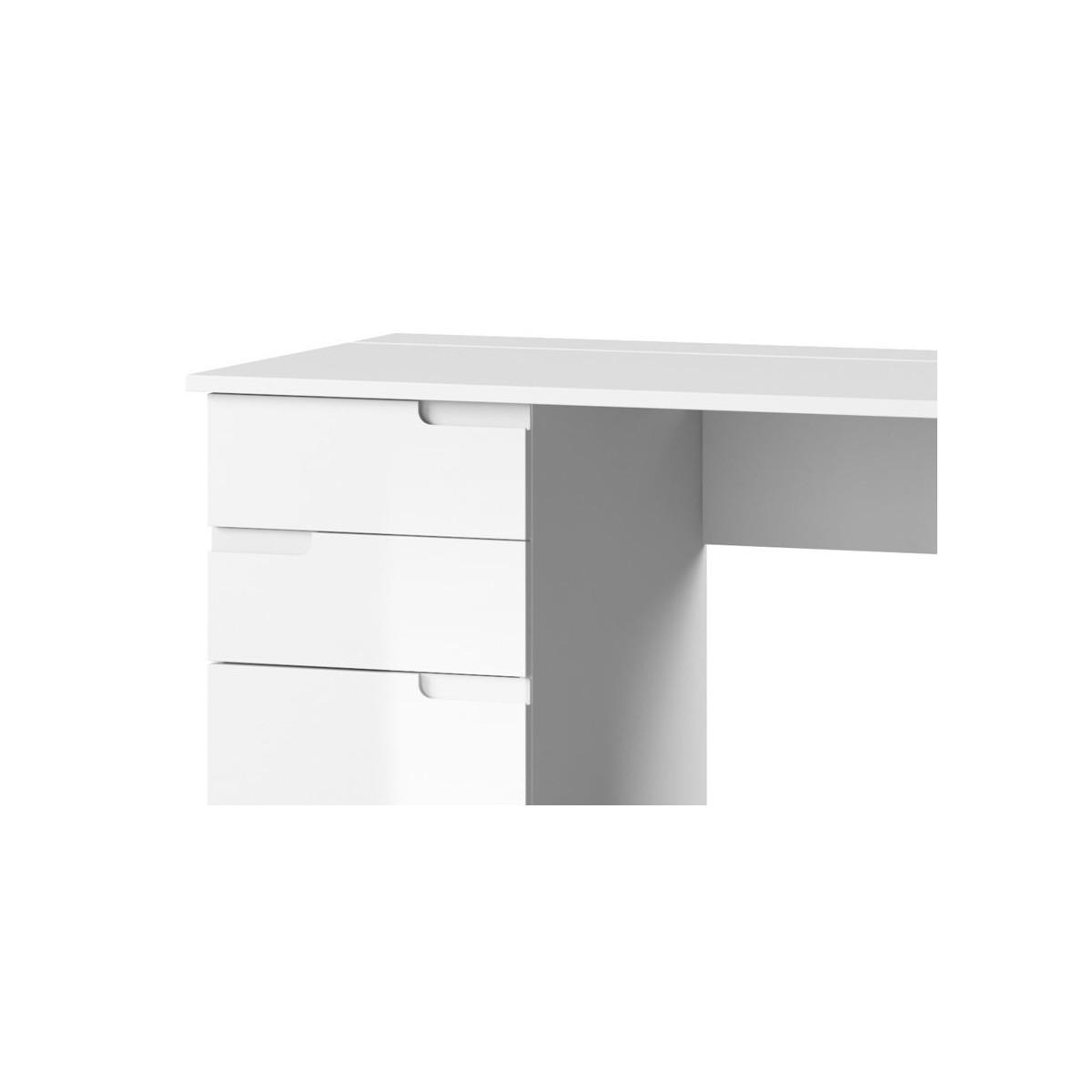 Biurko Selene biały połysk Typ 15