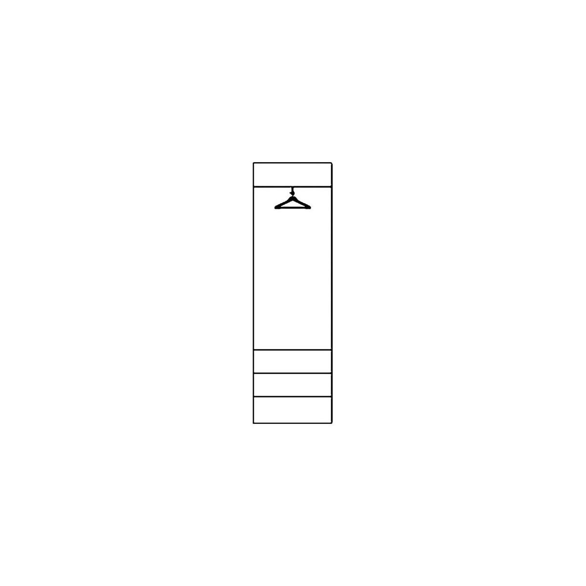 Szafa Selene biały połysk Typ 22