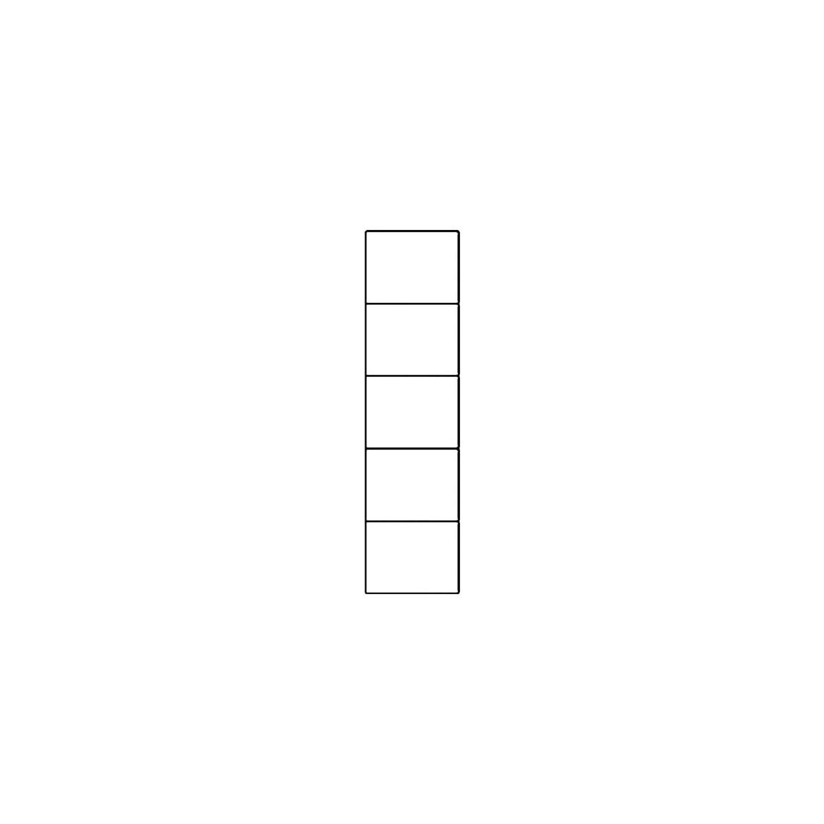 Witryna Selene biały połysk Typ 25