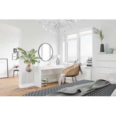 Toaletka Selene biały połysk 31 Szynaka Meble