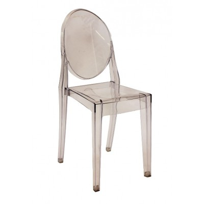 Krzesło Martin transparentne poliwęglan Signal