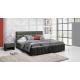 Łóżko tapicerowane Kalipso H 160 bez pojemnika