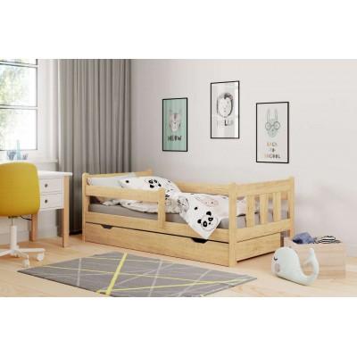 Marinella łóżko dla dziecka drewno lite sosna Halmar