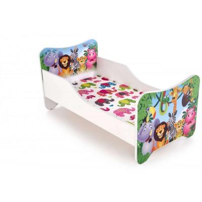 Happy jungle dżungla łóżko dla chłopca Halmar