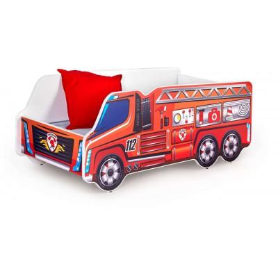 Fire truck łóżko dla dziecka straż pożarna Halmar