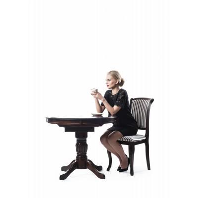 Margo stół okrągły ciemny orzech Signal