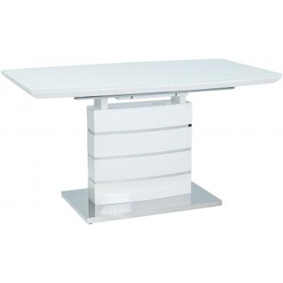 Leonardo stół rozkładany biały lakier Signal