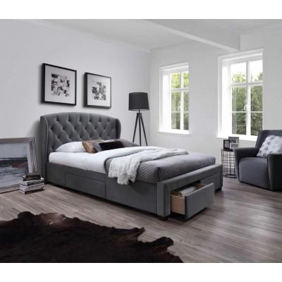 Sabrina łóżko 160 z szufladami Halmar
