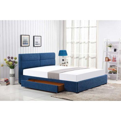 Merida 160 niebieski łóżko Halmar
