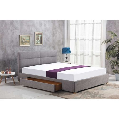 Merida 160 jasny popiel łóżko Halmar