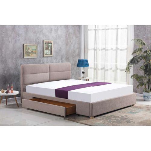 Merida 160 beż łóżko Halmar