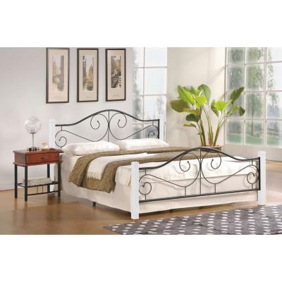 Violetta 160 biały łóżko Halmar