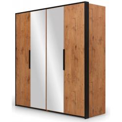 Loft Szafa 4-drzwiowa z lustrami LFSZ4D/L New Elegance