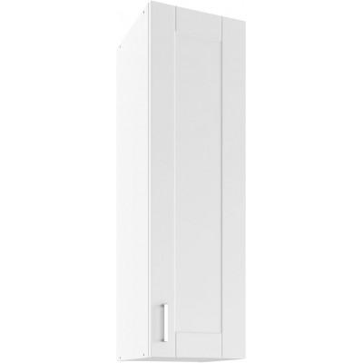 Milano Bianco Super Mat UHO 30 Szafka wisząca z drzwiami Lupus