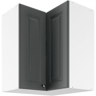 Bella Graphite Super Mat UNO 60 Szafka wisząca z drzwiami otwieranymi osobno Lupus