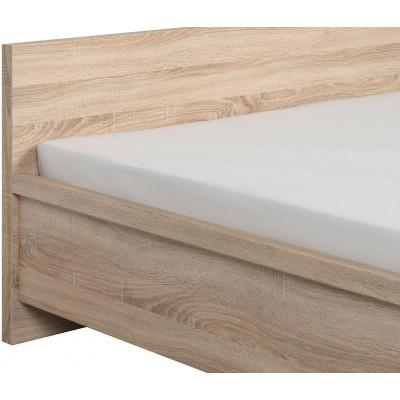 Łóżko 140 Kaspian LOZ Black Red White