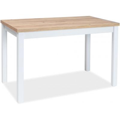 Stół Adam dąb biały mat 100x60 Signal