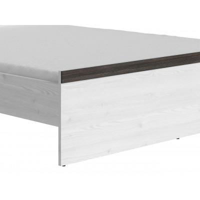 Łóżko 160 Porto LOZ Black Red White