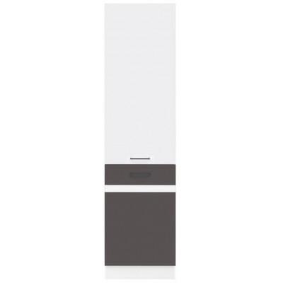 Szafka wysoka Junona Line D2D/50/195_P Black Red White
