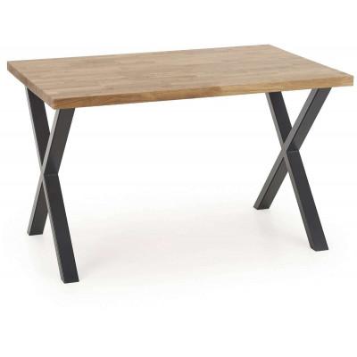 Apex stół 140x85 lity dąb naturalny Halmar