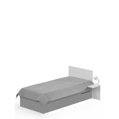Łóżko X GREY 90x190cm Meble Meblik