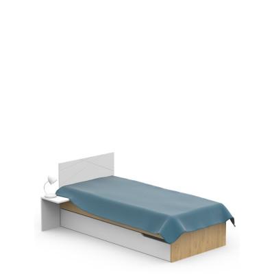 Łóżko X OAK 90x200cm Meble Meblik