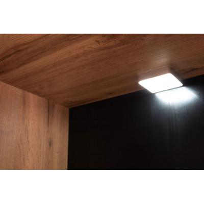 Oświetlenie do LO05-DWDW 2-punkty z zasilaczem Loft Kielecka Fabryka Mebli